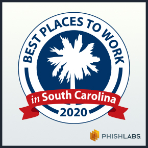 PhishLabs Recognized as a Best Places to Work for Fifth Consecutive Year