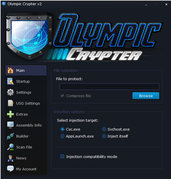 Olympic Crypter